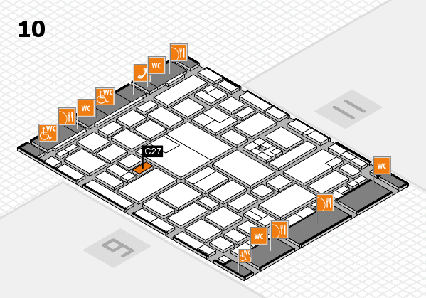 boot 2017 hall map (Hall 10): stand C27