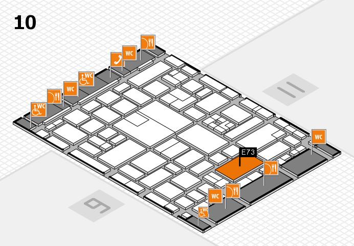 boot 2017 hall map (Hall 10): stand E73