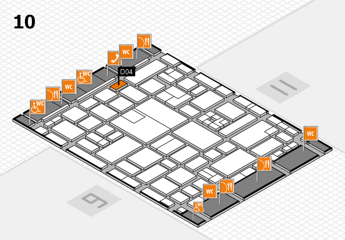 boot 2017 hall map (Hall 10): stand D04