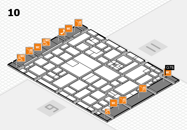 boot 2017 hall map (Hall 10): stand G78