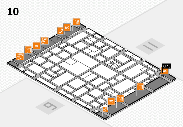 boot 2017 hall map (Hall 10): stand G78