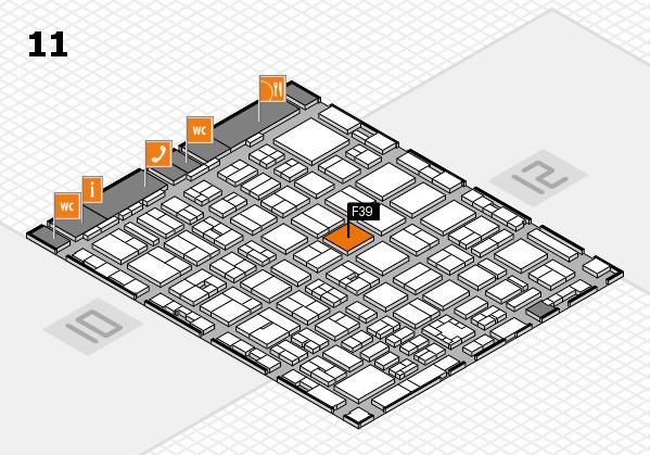 boot 2017 hall map (Hall 11): stand F39