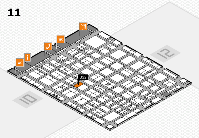 boot 2017 hall map (Hall 11): stand B32