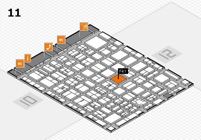 boot 2017 Hallenplan (Halle 11): Stand F41