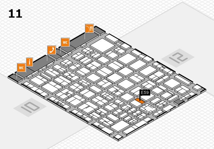 boot 2017 Hallenplan (Halle 11): Stand E59