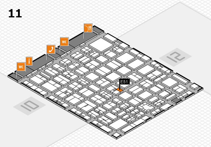 boot 2017 Hallenplan (Halle 11): Stand E51