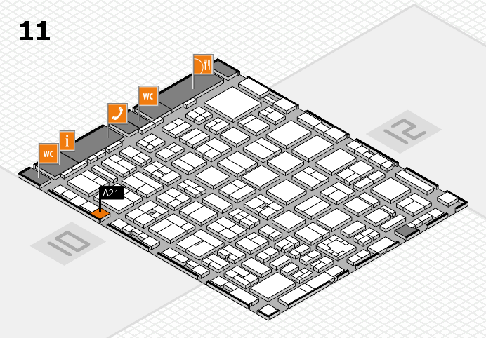 boot 2017 Hallenplan (Halle 11): Stand A21