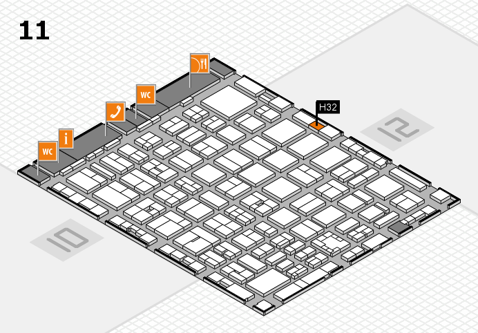 boot 2017 Hallenplan (Halle 11): Stand H32