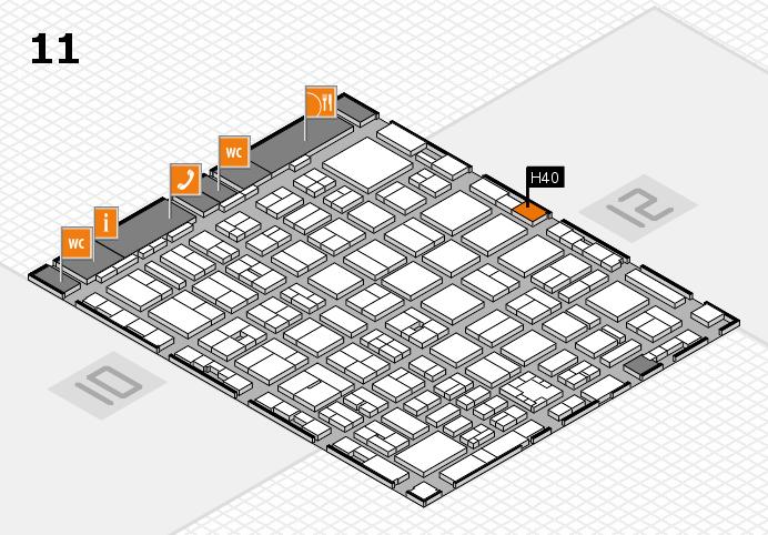 boot 2017 Hallenplan (Halle 11): Stand H40