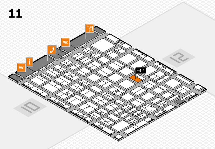 boot 2017 Hallenplan (Halle 11): Stand F42