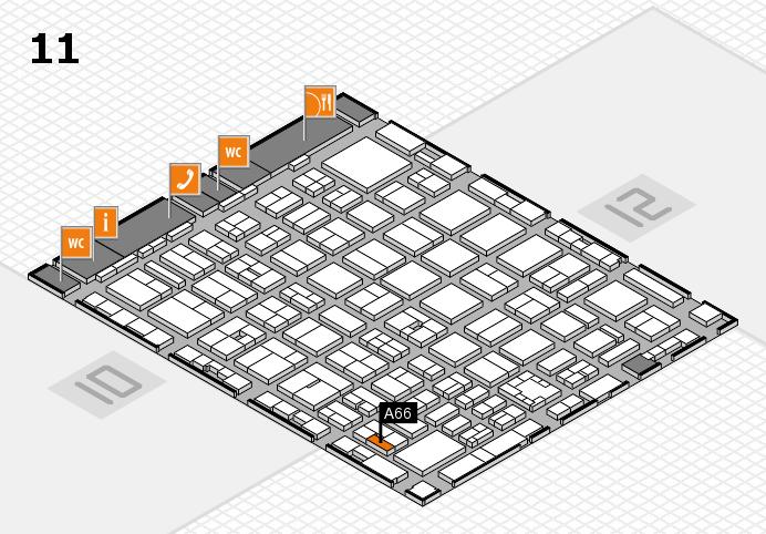 boot 2017 Hallenplan (Halle 11): Stand A66
