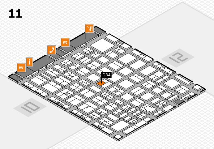 boot 2017 Hallenplan (Halle 11): Stand D34
