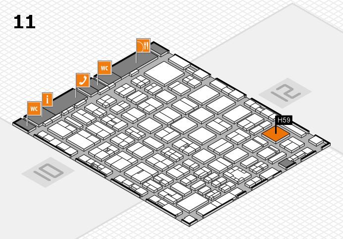 boot 2017 Hallenplan (Halle 11): Stand H59