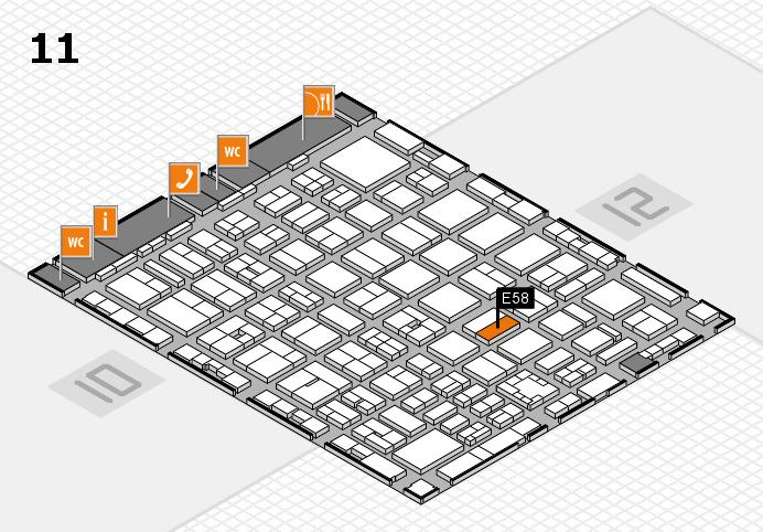 boot 2017 Hallenplan (Halle 11): Stand E58