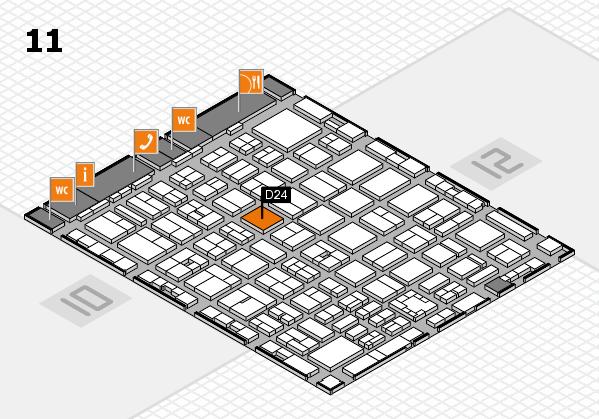 boot 2017 hall map (Hall 11): stand D24