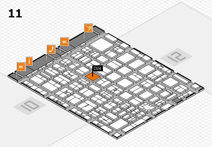 boot 2017 Hallenplan (Halle 11): Stand D24