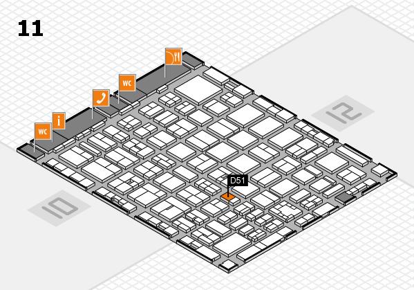 boot 2017 Hallenplan (Halle 11): Stand D51