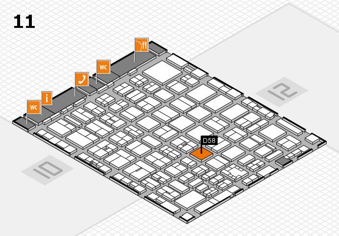 boot 2017 Hallenplan (Halle 11): Stand D58
