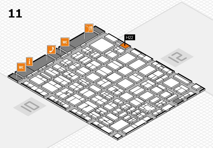 boot 2017 Hallenplan (Halle 11): Stand H22