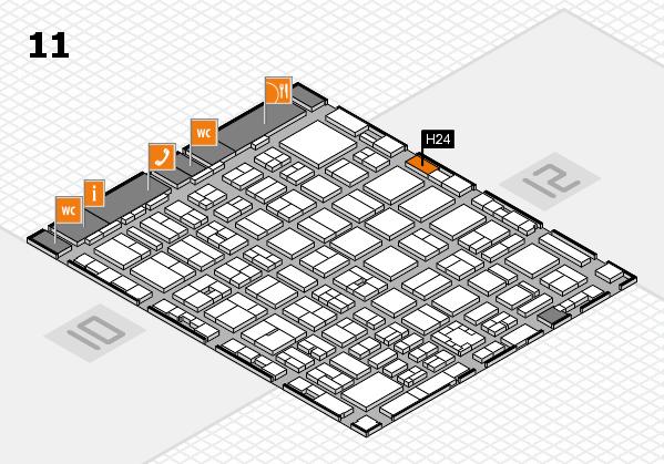 boot 2017 hall map (Hall 11): stand H24