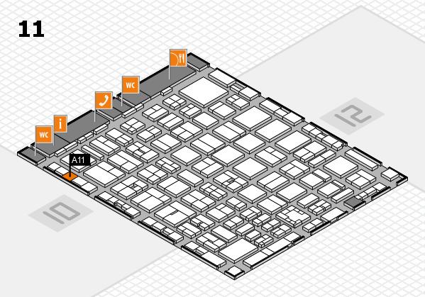 boot 2017 hall map (Hall 11): stand A11