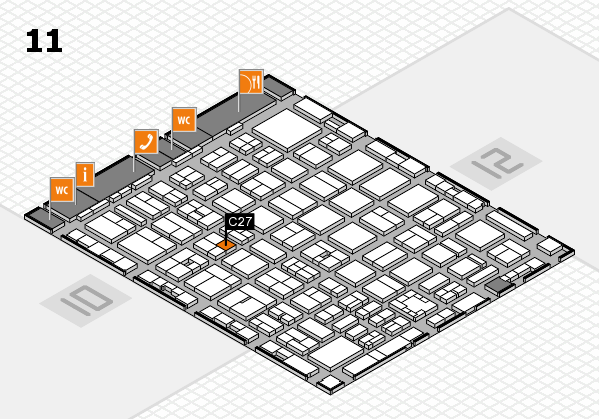 boot 2017 hall map (Hall 11): stand C27