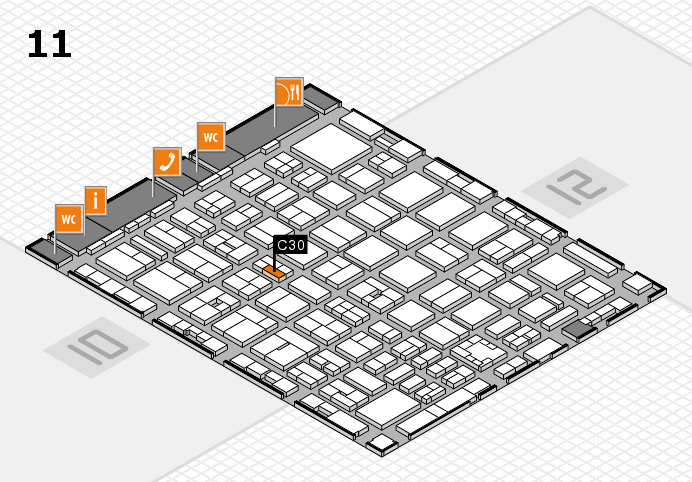 boot 2017 hall map (Hall 11): stand C30