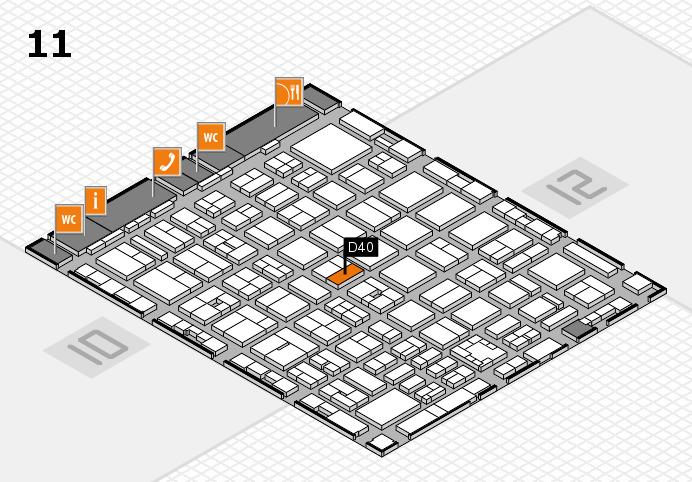 boot 2017 Hallenplan (Halle 11): Stand D40