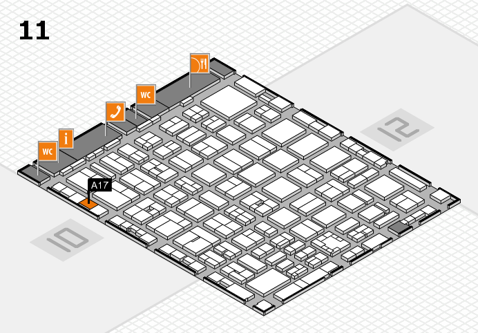boot 2017 Hallenplan (Halle 11): Stand A17