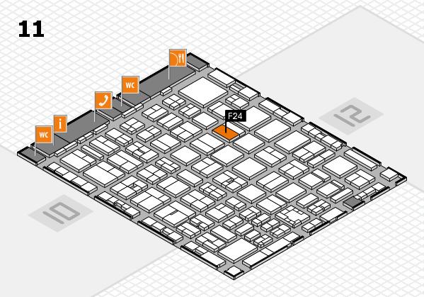 boot 2017 hall map (Hall 11): stand F24