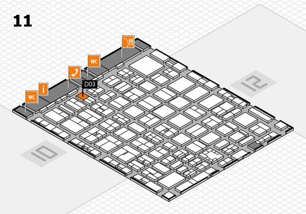 boot 2017 hall map (Hall 11): stand D03