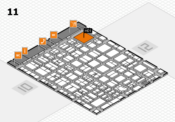 boot 2017 hall map (Hall 11): stand H01