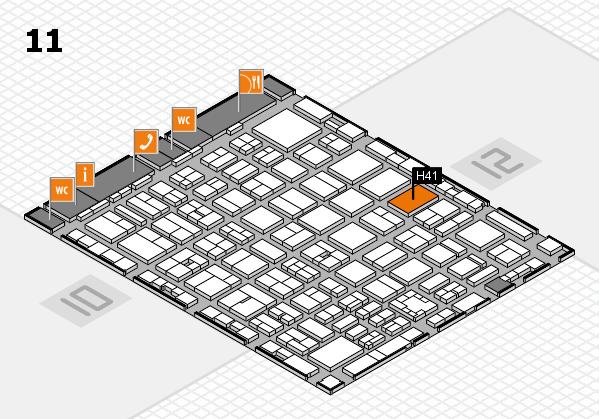 boot 2017 Hallenplan (Halle 11): Stand H41