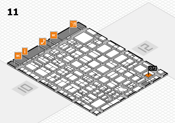 boot 2017 hall map (Hall 11): stand G72