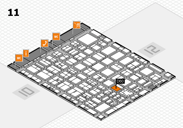 boot 2017 hall map (Hall 11): stand D60
