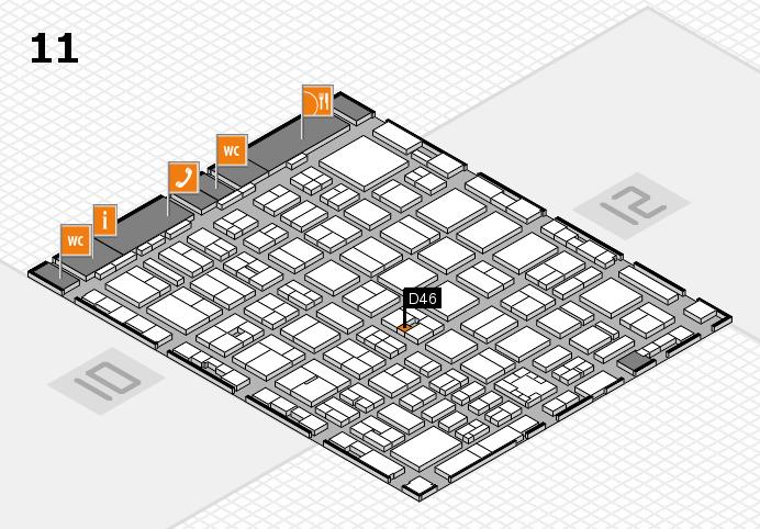 boot 2017 Hallenplan (Halle 11): Stand D46