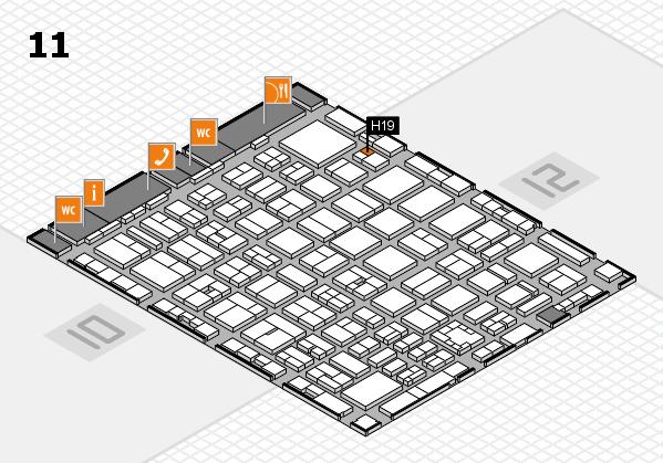 boot 2017 hall map (Hall 11): stand H19