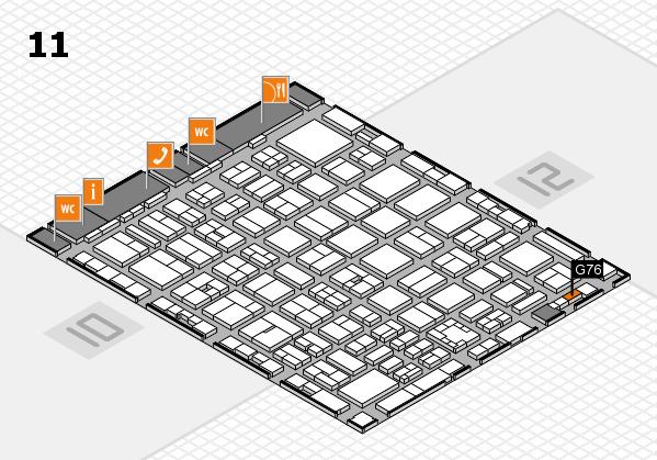 boot 2017 hall map (Hall 11): stand G76