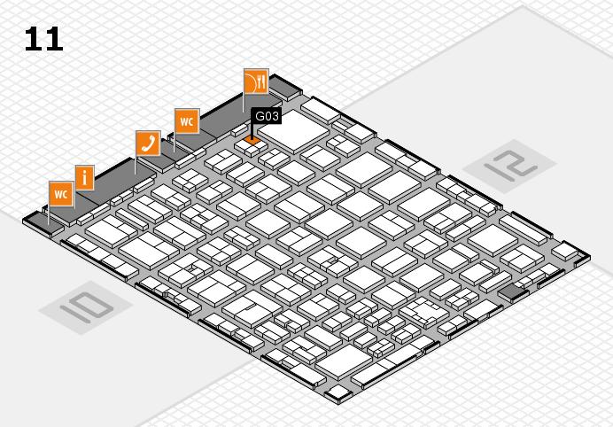 boot 2017 hall map (Hall 11): stand G03
