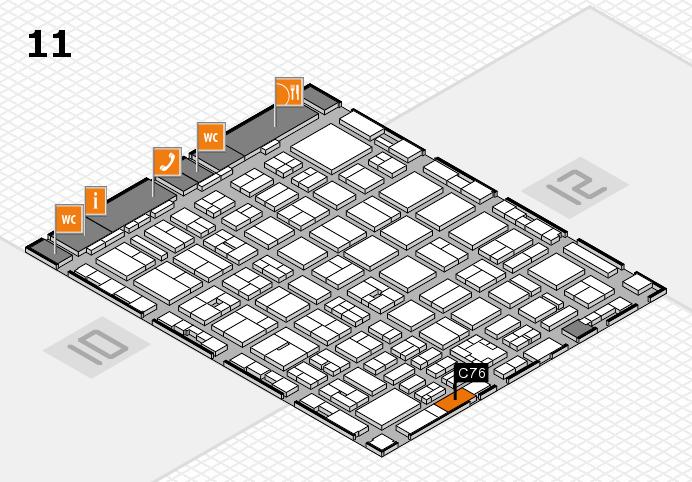 boot 2017 Hallenplan (Halle 11): Stand C76
