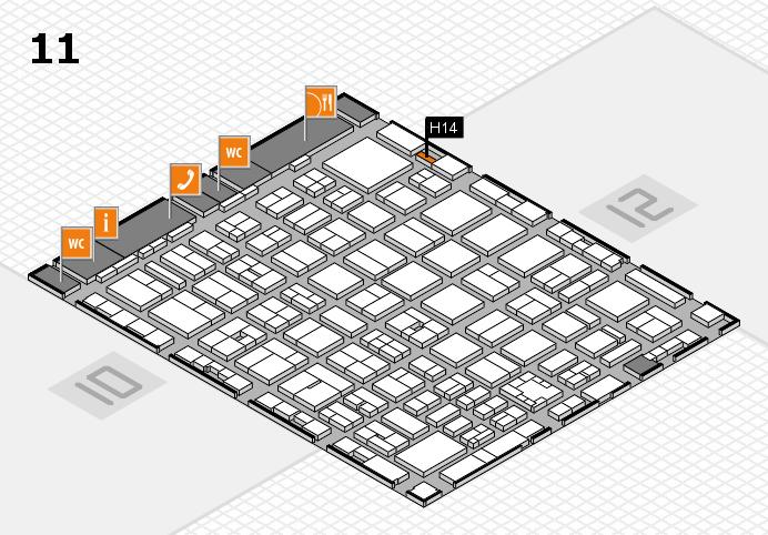 boot 2017 Hallenplan (Halle 11): Stand H14