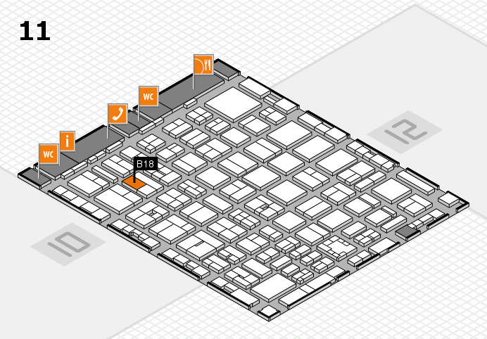 boot 2017 Hallenplan (Halle 11): Stand B18