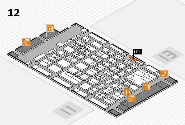 boot 2017 hall map (Hall 12): stand H31