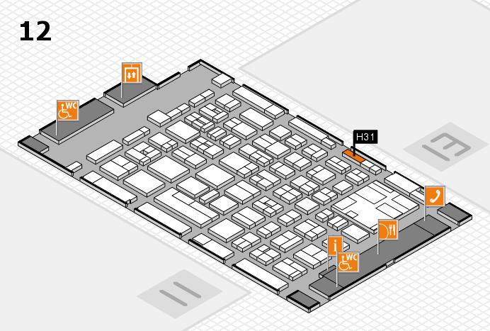 boot 2017 Hallenplan (Halle 12): Stand H31