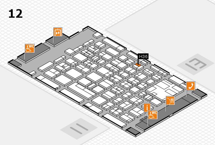 boot 2017 Hallenplan (Halle 12): Stand H36