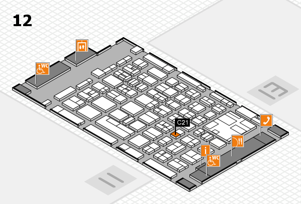 boot 2017 hall map (Hall 12): stand C21