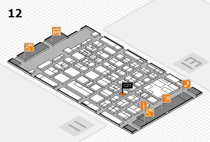 boot 2017 Hallenplan (Halle 12): Stand C21