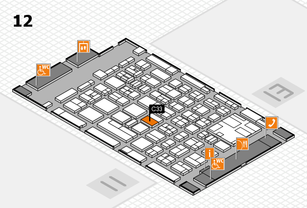 boot 2017 hall map (Hall 12): stand C33