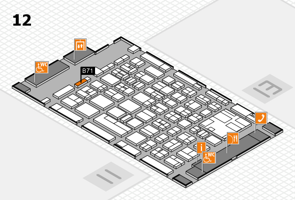 boot 2017 hall map (Hall 12): stand B71