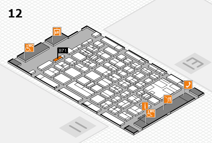 boot 2017 Hallenplan (Halle 12): Stand B71